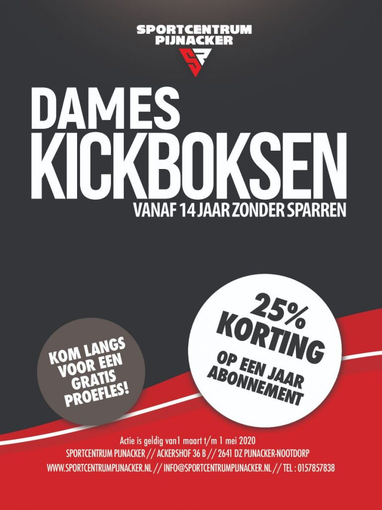 V3_Dames-Kickboksen - 14 JAAR